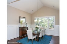 Architectural House Design - European Interior - Dining Room Plan #929-958