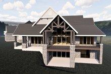 Craftsman Exterior - Rear Elevation Plan #920-98