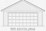 Craftsman Style House Plan - 2 Beds 2 Baths 1200 Sq/Ft Plan #112-159 Exterior - Front Elevation