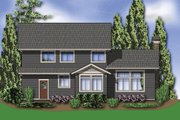 Craftsman Style House Plan - 3 Beds 2.5 Baths 2124 Sq/Ft Plan #48-528