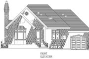 Traditional Style House Plan - 2 Beds 1.5 Baths 1024 Sq/Ft Plan #138-313 Exterior - Other Elevation