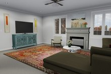 Dream House Plan - Traditional Interior - Family Room Plan #1060-7