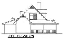 House Design - Country Exterior - Other Elevation Plan #40-103