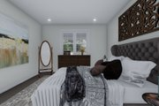 Cottage Style House Plan - 2 Beds 2 Baths 1641 Sq/Ft Plan #1060-64 Interior - Master Bedroom