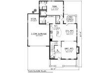 Traditional Floor Plan - Main Floor Plan Plan #70-1200