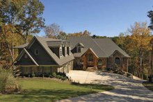 House Plan Design - Craftsman Exterior - Front Elevation Plan #54-270