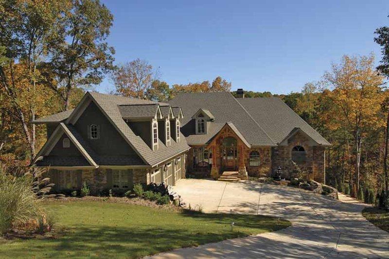 Craftsman Exterior - Front Elevation Plan #54-270