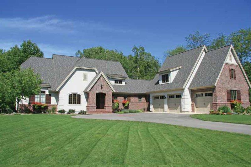 House Plan Design - European Exterior - Front Elevation Plan #928-187