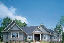 Craftsman Exterior - Front Elevation Plan #929-313