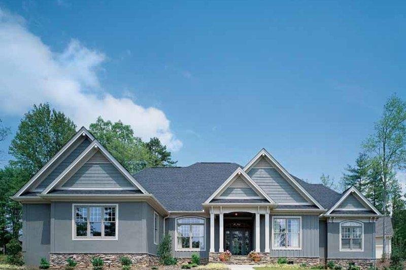 Architectural House Design - Craftsman Exterior - Front Elevation Plan #929-313