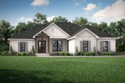 Farmhouse Style House Plan - 4 Beds 2 Baths 1850 Sq/Ft Plan #430-207 Exterior - Front Elevation