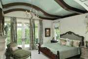 Country Style House Plan - 3 Beds 3 Baths 4703 Sq/Ft Plan #928-183 Interior - Master Bedroom