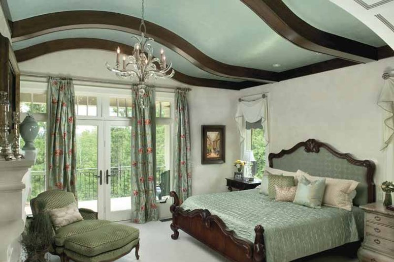 Country Interior - Master Bedroom Plan #928-183 - Houseplans.com