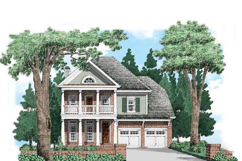 Traditional Exterior - Front Elevation Plan #927-656 - Houseplans.com