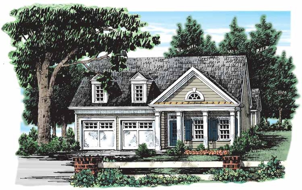 Classical Style House Plan 2 Beds 2 Baths 1437 Sq Ft Plan 927 134 Eplans Com