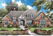 House Plan Design - Traditional Exterior - Front Elevation Plan #929-772