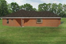 Home Plan - Ranch Exterior - Rear Elevation Plan #1061-30