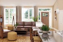 Ranch Interior - Family Room Plan #18-9545