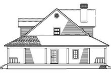 House Plan Design - Colonial Exterior - Other Elevation Plan #17-2936