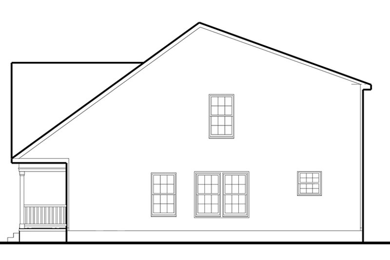Colonial Exterior - Other Elevation Plan #1053-72 - Houseplans.com