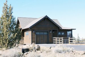 Dream House Plan - Ranch Exterior - Front Elevation Plan #895-128