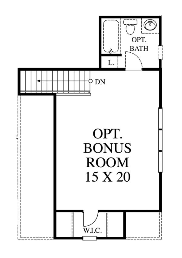 Ranch Floor Plan - Other Floor Plan Plan #1053-44