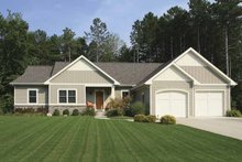 Craftsman Exterior - Front Elevation Plan #928-152