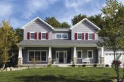 Craftsman Style House Plan - 3 Beds 2.5 Baths 1946 Sq/Ft Plan #928-137 Exterior - Front Elevation