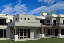 Modern Exterior - Rear Elevation Plan #920-71