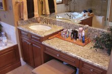 Dream House Plan - Mediterranean Interior - Master Bathroom Plan #1058-18