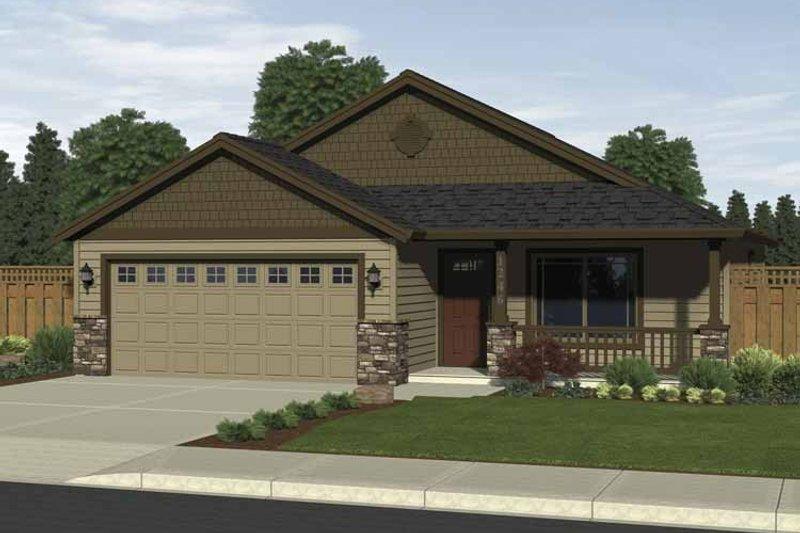 House Plan Design - Craftsman Exterior - Front Elevation Plan #943-1
