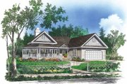 Victorian Style House Plan - 3 Beds 2 Baths 1820 Sq/Ft Plan #929-91 Exterior - Front Elevation