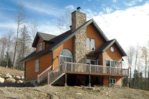 Cottage Exterior - Rear Elevation Plan #23-2047