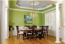 Country Interior - Dining Room Plan #929-9