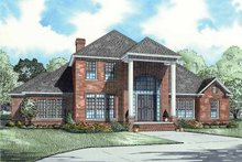 Architectural House Design - Classical Exterior - Front Elevation Plan #17-2684