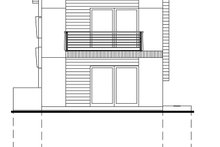 Traditional Exterior - Rear Elevation Plan #484-13