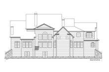 Farmhouse Exterior - Rear Elevation Plan #54-380