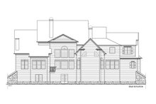 Architectural House Design - Farmhouse Exterior - Rear Elevation Plan #54-380