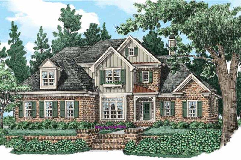 Home Plan - European Exterior - Front Elevation Plan #927-531