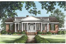 Dream House Plan - Classical Exterior - Front Elevation Plan #137-331