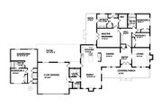 Ranch Style House Plan - 4 Beds 3.5 Baths 2694 Sq/Ft Plan #515-14 Floor Plan - Main Floor Plan