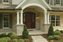 Home Plan - Country Exterior - Front Elevation Plan #57-628