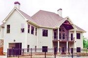 European Style House Plan - 3 Beds 3 Baths 3907 Sq/Ft Plan #437-58