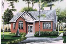 Dream House Plan - Country Exterior - Front Elevation Plan #23-2358