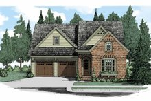 House Plan Design - European Exterior - Front Elevation Plan #927-509