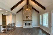 Farmhouse Style House Plan - 3 Beds 3.5 Baths 2741 Sq/Ft Plan #437-97 Interior - Family Room