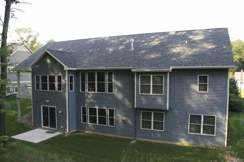 Craftsman Exterior - Rear Elevation Plan #928-121 - Houseplans.com