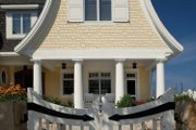 Colonial Style House Plan - 5 Beds 5.5 Baths 4470 Sq/Ft Plan #928-179 Exterior - Front Elevation