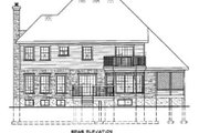 Farmhouse Style House Plan - 3 Beds 2.5 Baths 2462 Sq/Ft Plan #25-2195 Exterior - Rear Elevation