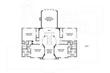 Southern Floor Plan - Upper Floor Plan Plan #119-198